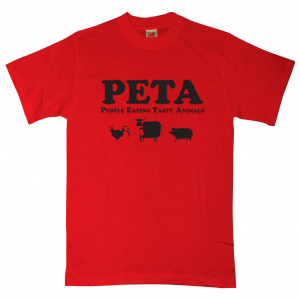 Funny Peta T Shirts People Eating Tasty Animals Absolute