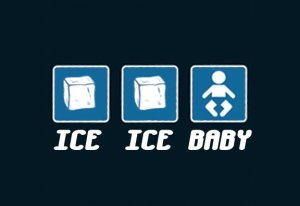Funny Ice Ice Baby T-Shirts On Sale