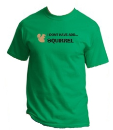 Funny Green Squirrel T-Shirts Up Add Designs | Absolute Funny T ...